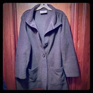 Charcoal Grey Avenue Jacket Size 26/28